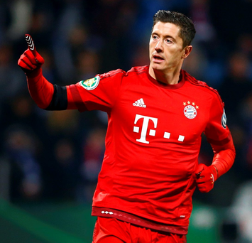 Robert Lewandowski Photo: Reuters