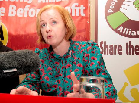 Ruth Coppinger faces a fight with Sinn Féin for her seat. Photo: Tom Burke