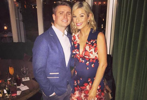 Brian Ormond and Pippa O'Connor. Picture: Instagram