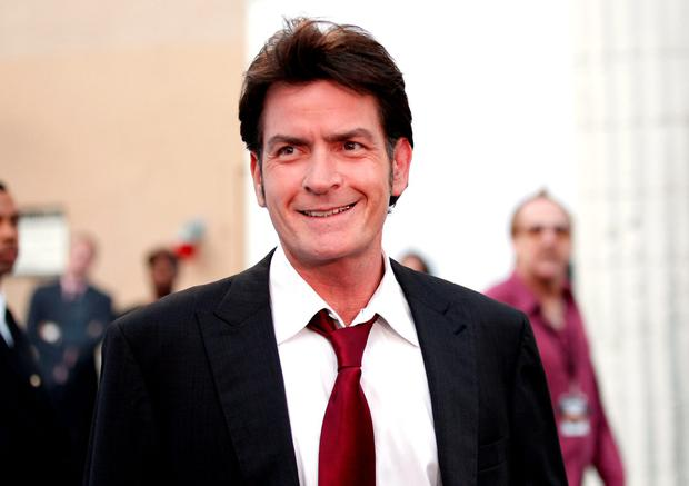 Charlie Sheen arrives at Comedy Central's Roast of Charlie Sheen held at Sony Studios on September 10, 2011 in Los Angeles, California. (Photo by Christopher Polk/Getty Images)