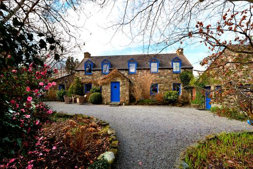 The main residence at Fairy Valley, Durrus, Co Cork.