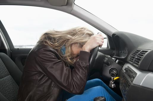 Driving while sad is far more likely or result in a crash than being tired
