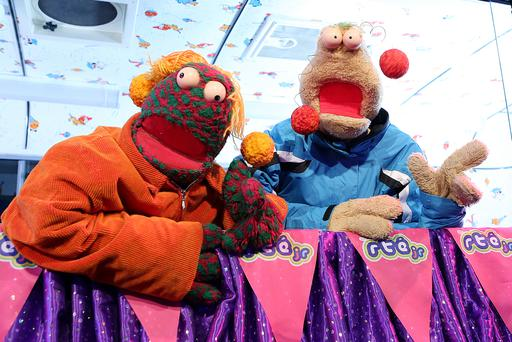 Zig and Zag at the launch of their new animation for RTÉjr. Zig and Zag the cartoon is available on the RTÉjr app and on the RTÉjr television channel from Tuesday 1 March.
