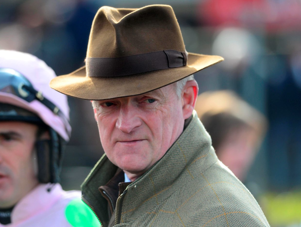 Trainer Willie Mullins ruled Arctic Fire ruled out of the Champion Hurdle because of injury. Photo: Healy Racing.
