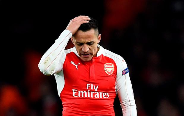 'Even with Mesut Ozil and Alexis Sanchez (pictured) to call on, Arsenal lack the majesty to engage in a straight talent contest with three megastars'. Reuters / Dylan Martinez