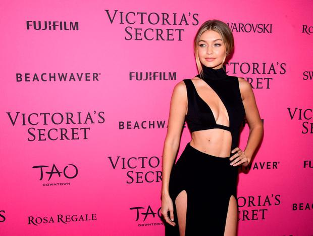 Gigi Hadid attends the 2015 Victoria's Secret Fashion After Party at TAO Downtown on November 10, 2015 in New York City. (Photo by Grant Lamos IV/Getty Images)