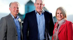 John Ryan (CEO Great Place to Work), Brian Purcell (Ready Business Presenter) and Mairead Fleming (MD Ascension Executive)