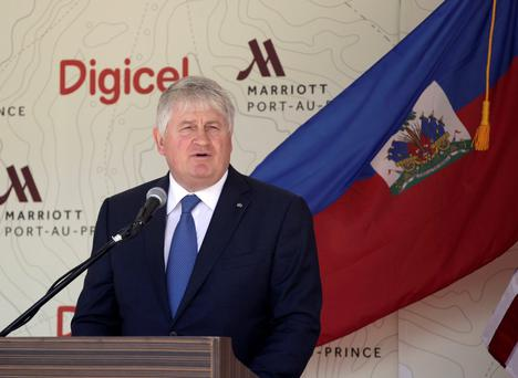 Digicel and Denis O'Brien previously objected to Google and Facebook 'getting a free advertising ride'.