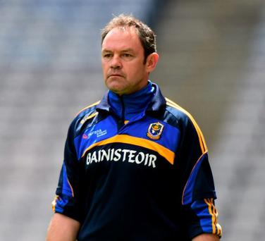 Roscommon manager Justin Campbell. Photo: Matt Browne / Sportsfile