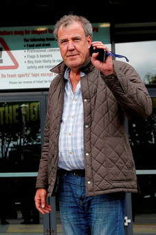 Jeremy Clarkson (pictured) punched 'Top Gear' producer Oisin Tymon after he was told he could not order a steak dinner at a hotel. Photo: Brian Lawless/PA Wire