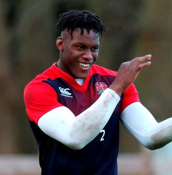 Maro Itoje is one of the England players likely to do damage in the latter stages. Photo by David Rogers/Getty Images