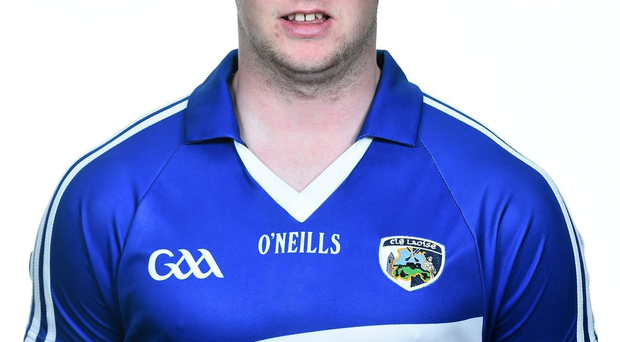 Laois player Eoin Lowry