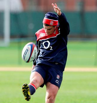 England's George Ford during training. Photo: Henry Browne / Action Images via Reuters