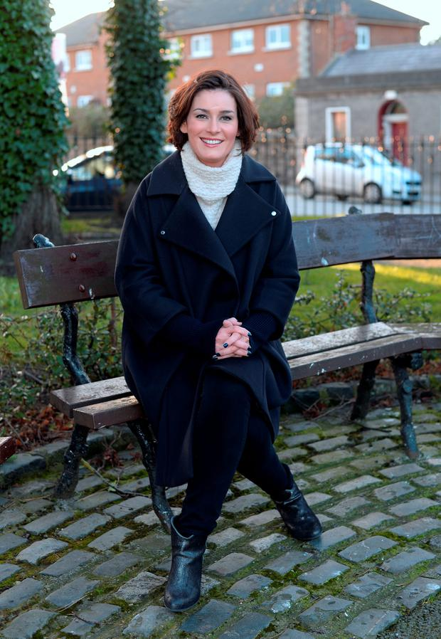 Kate O'Connell, Fine Gael candidate for Dublin Bay South, has called on constituency rival Lucinda Creighton to reveal her legal costs. Photo: Caroline Quinn