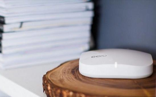 The Eero wireless router is faster and more reliable than traditional, wired routers Credit: Eero
