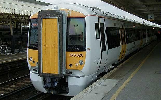 The incident took place on a Southeastern train