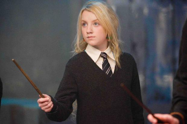 Evanna Lynch as Luna in Harry Potter