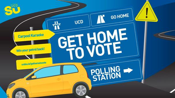 Anyone can sign up to offer a lift ahead of Friday's election