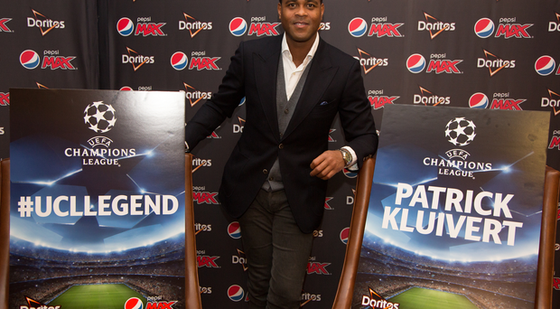 Patrick Kluivert at Hendon Hall Hotel