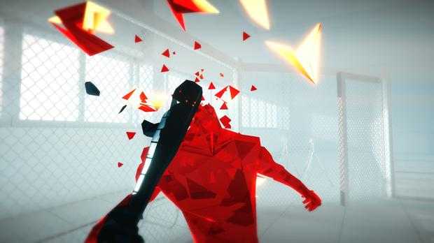 Things go smash in Superhot
