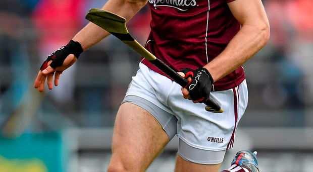 Johnny Glynn's absence will be a big blow to Galway's championship hopes. Photo: Stephen McCarthy / Sportsfile.