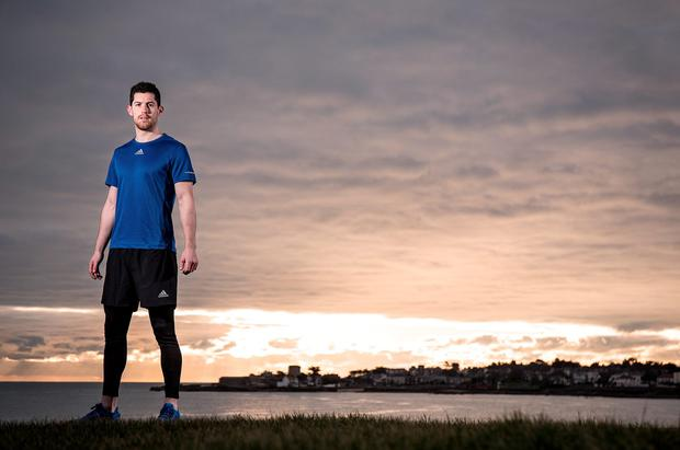 Rory O'Carroll at the launch of the adidas and Life Style Sports Boost Run in Dun Laoghaire yesterday. For full details visit www.LifeStyleSports.com (INPHO)