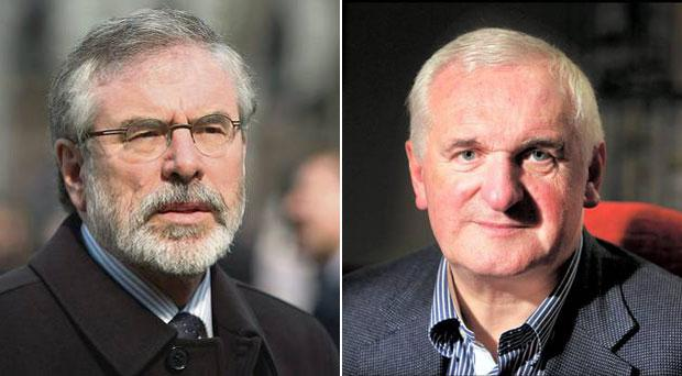 Bertie Ahern believes Sinn Fein would have done better without Gerry Adams