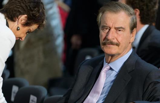 Vicente Fox was President of Mexico between 2000 and 2006. Getty Images