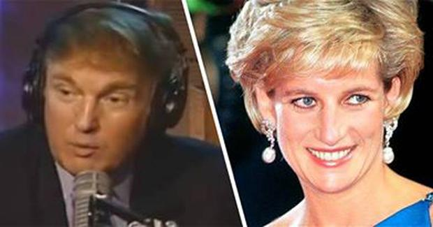 Old interviews have emerged in which Donald Trump claims he could have slept with Princess Diana