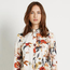 Warehouse floral print shirt.