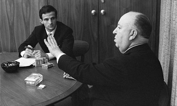 Meeting of minds: François Truffaut and Alfred Hitchcock