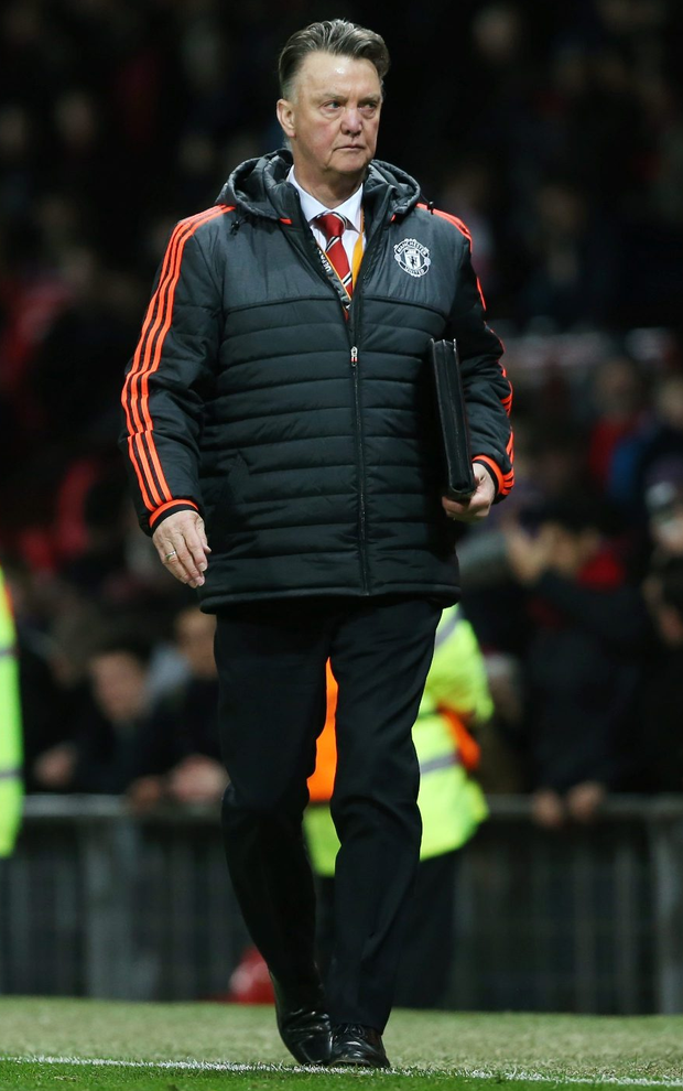 Louis van Gaal. Photo: Russell Cheyne/Reuters