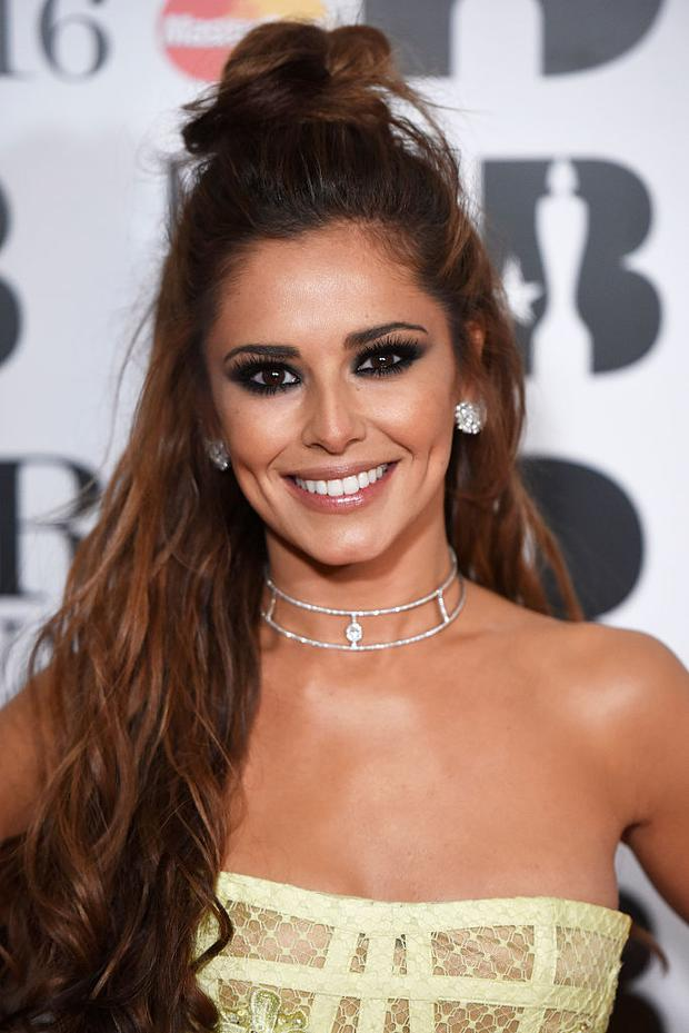 Cheryl Fernandez-Versini attends the BRIT Awards 2016 at The O2 Arena on February 24, 2016 in London, England. (Photo by Dave J Hogan/Dave J Hogan/Getty Images)