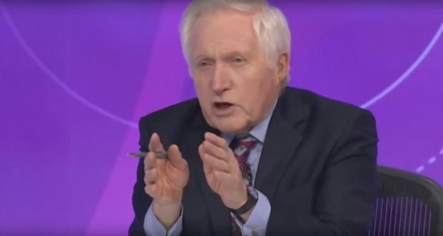 David Dimbleby on BBC's Question Time