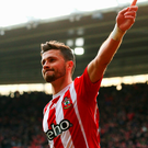 Shane Long celebrates his goal for Southampton yesterday Photo: Clive Rose/Getty Images