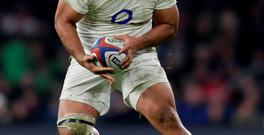 England's Billy Vunipola of England in action. Photo: Reuters