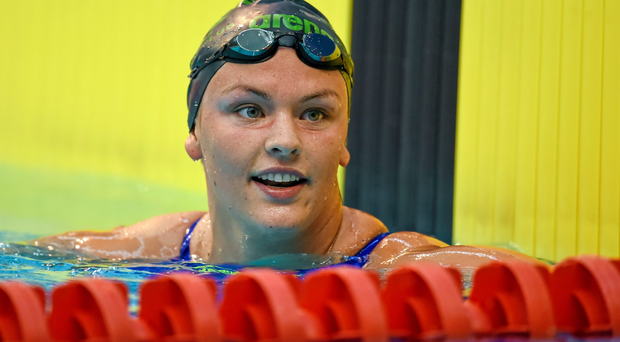Ireland swimmer Grainne Murphy announced her retirement from competitive swimming last Tuesday, at the age of 22. Photo: Sportsfile