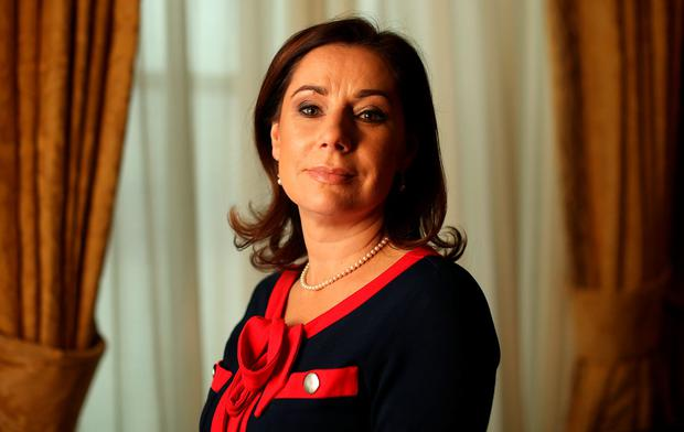 Josepha Madigan pictured for Sunday Independent. Picture; GERRY MOONEY 5/12/15
