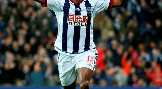 Saido Berahino gave an outstanding performance for West Brom against Crystal Palace Photo: Tim Goode/PA Wire