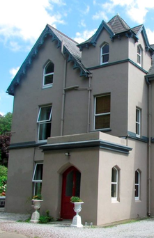 The Gothic creation in Inver, Cobh, Co Cork features an elegant drawing room with bay window, marble fireplace and corniced ceiling, and a double-aspect dining room with butler's pantry