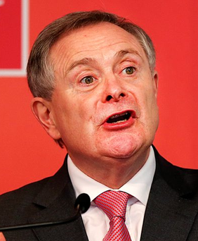 Labour Party TD Brendan Howlin Photo: Steve Humphreys