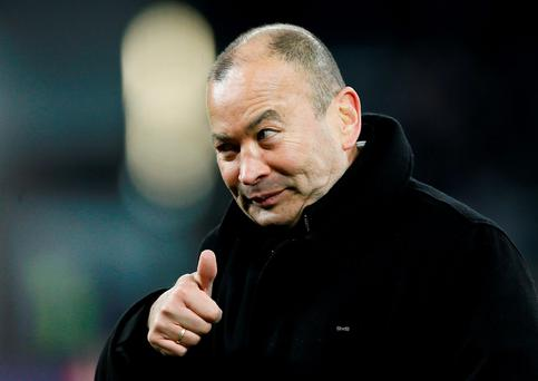 'I do anything to win,' said England head coach Eddie Jones. Photo: Stefan Wermuth/Reuters
