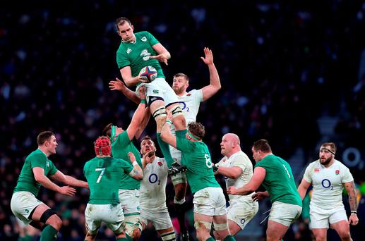 Devin Toner needs to stand up and be counted as the main man in Irish lineout strategy. Photo: David Davies/PA