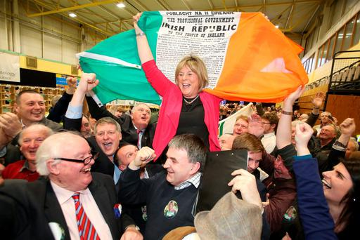 Mary Butler topped the poll for Fianna Fáil in Waterford. Picture: Patrick Browne