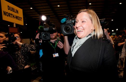 Lucinda Creighton fell between two stools – liberals hated her, while pro-lifers lost enthusiasm for her. Photo: Collins Dublin, Gareth Chaney