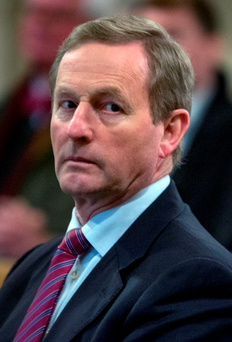 Taoiseach Enda Kenny said he would work with the decision the people have made. Picture: Arthur Carron