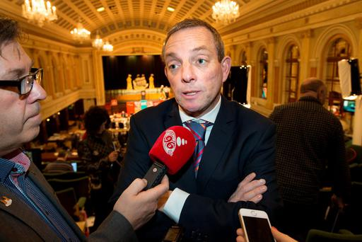 Fine Gael's Jerry Buttimer who lost his seat. Photo: Tony Gavin
