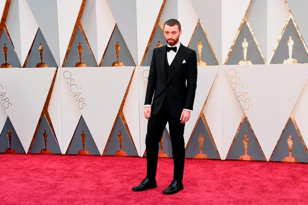 Recording artist Sam Smith attends the 88th Annual Academy Awards at Hollywood & Highland Center on February 28, 2016 in Hollywood, California. (Photo by Jason Merritt/Getty Images)