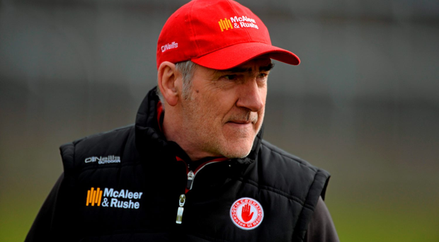 Mikey Harte, Tyrone manager. Photo: David Maher/Sportsfile