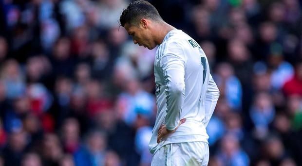 It hasn't been all plain sailing for Cristiano Ronaldo in 2016. Photo: Gonzalo Arroyo Moreno/Getty Images